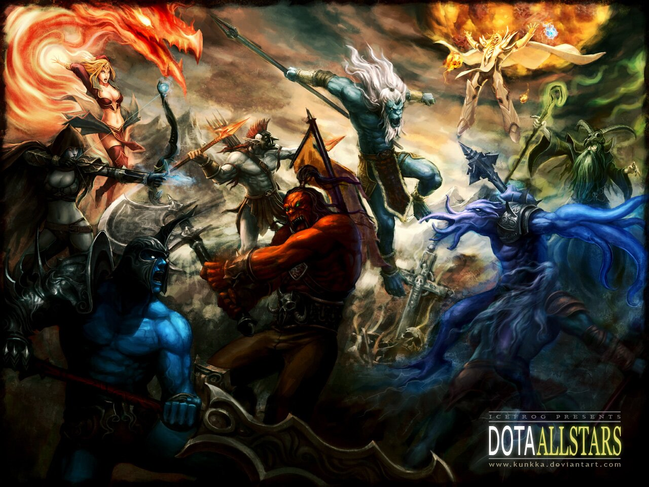 DotA Allstars 6.55 by kunkka La historia del DOTA: Defense Of The Ancients