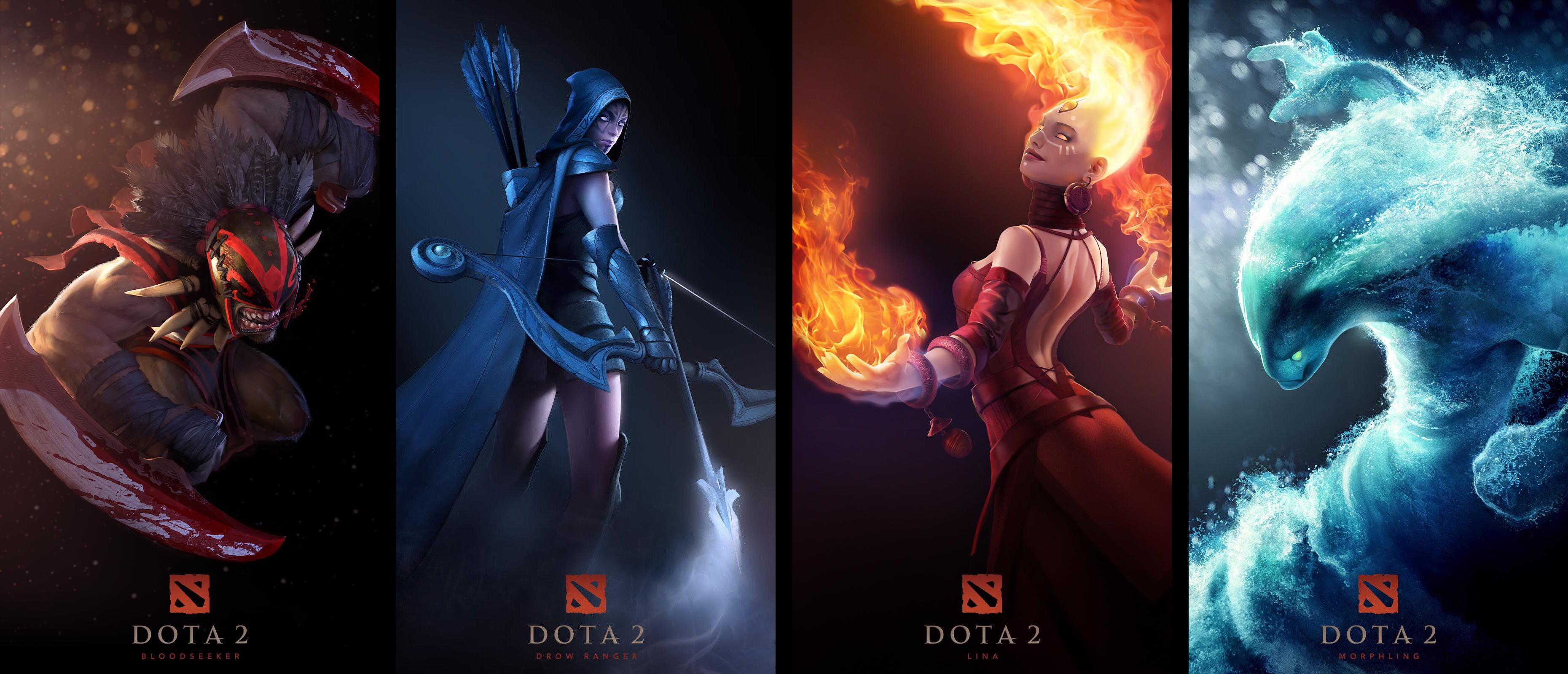 dota2wallaper La historia del DOTA: Defense Of The Ancients