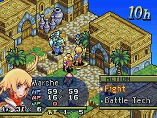 Final Fantasy Tactics: The War of the Lions se ha puesto a la venta