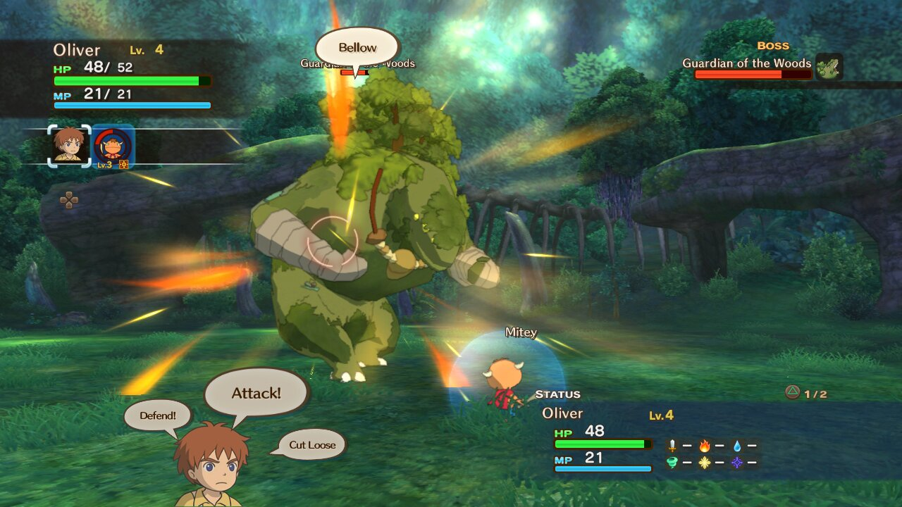 Ni no Kuni Wrath of the White Witch 05 Análisis Ni No Kuni: La ira de la Bruja Blanca