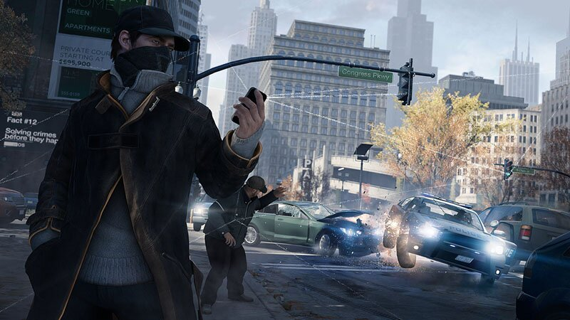 watch dogs gameplay ps4 móvil tráfico