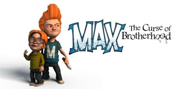 Max - The curse of Brotherhood Logo
