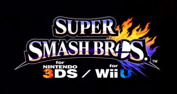 Super Smash Bros. Wii U 3DS LOGO