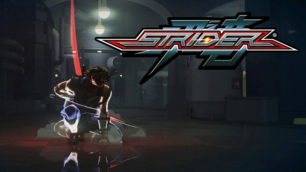 Strider logo and Hiryu