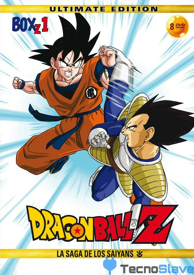 Dragon Ball Z Box 1 La Saga de los Saiyans Portada