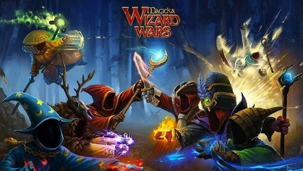 Magicka Wizard Wars Logo