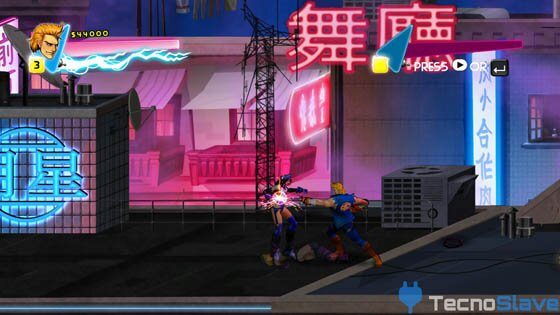 Double Dragon Neon 0167