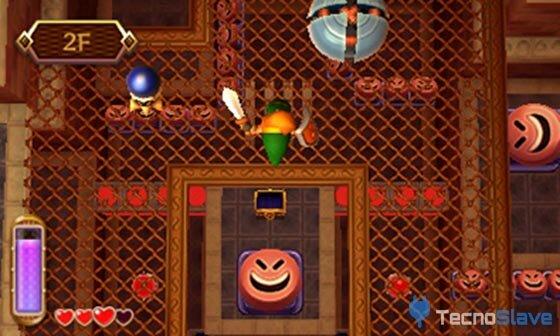 Zelda A Link Between Worlds - Altura 3D