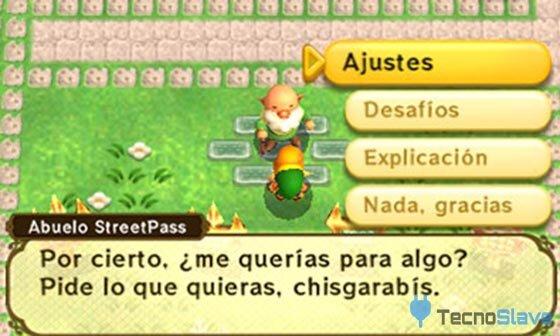 Zelda A Link Between Worlds - Streetpass