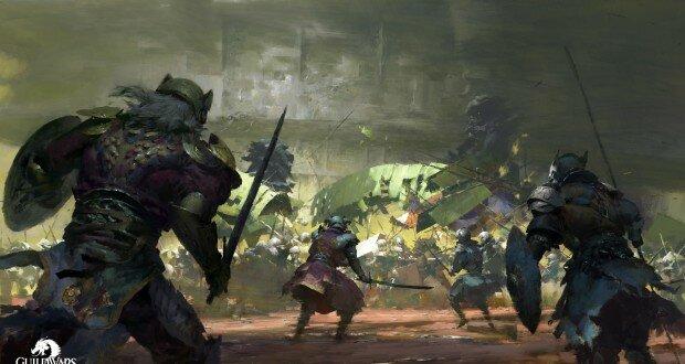 La Batalla de Arco del León Guild Wars 2