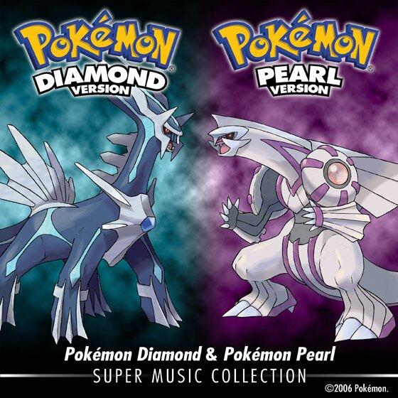 Pokemon diamante y perla super music collection