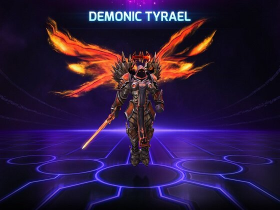 Tyrael Demoniaco
