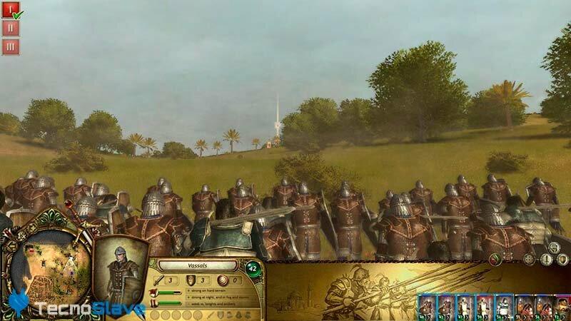 infanteria-the-kings-crusade-lionheart-cristianos