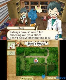 Hometown History 3DS Screenshoots Imágenes capturas (1)