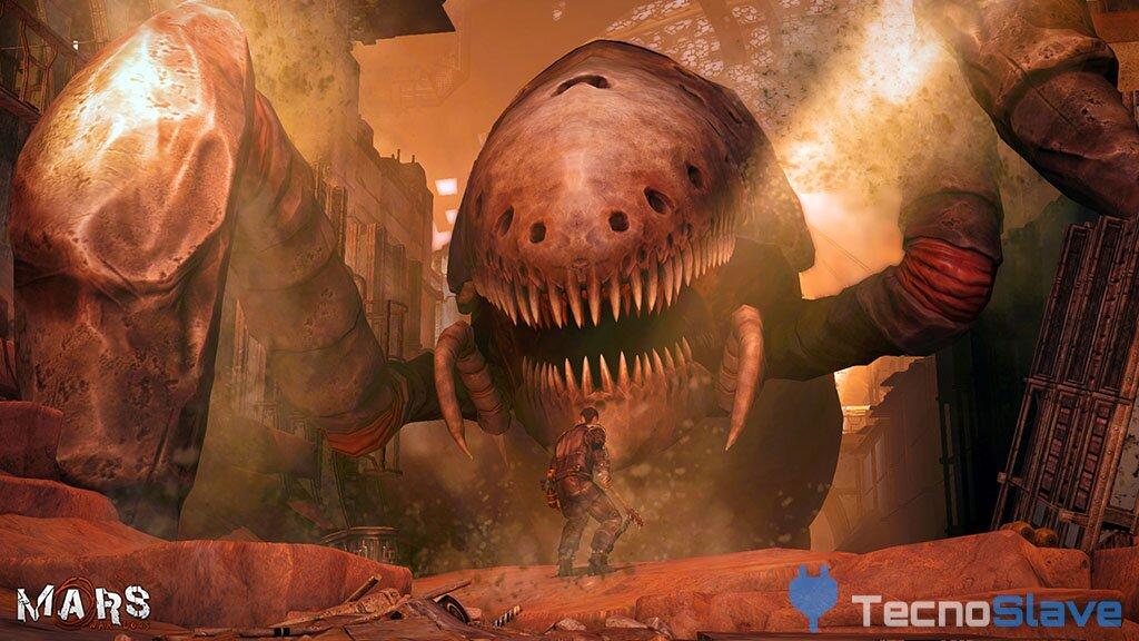 Mars War Logs - Bosses