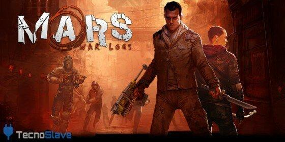 Mars War Logs - Portada