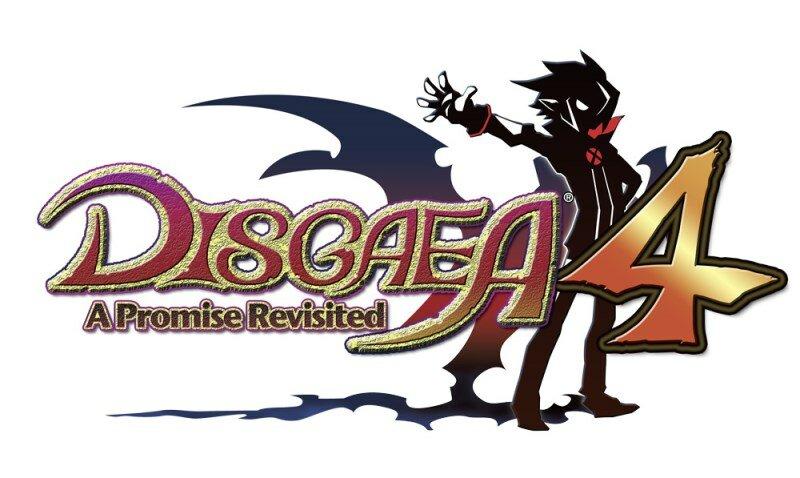 Disgaea 4 PS Vita logo