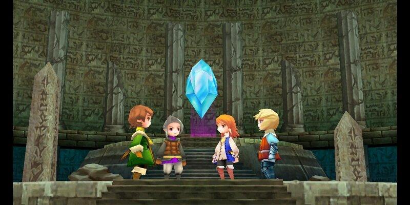 Final Fantasy III - Imagen
