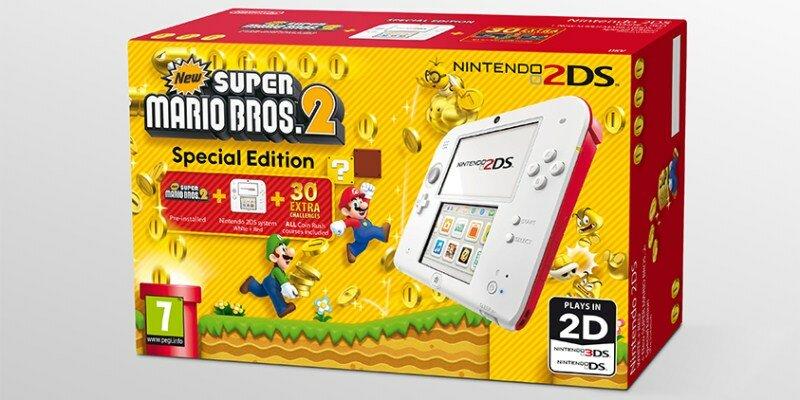 New Super Mario Bros. 2 Pack 2DS