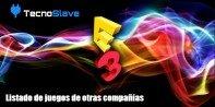 E3 2014 – Listado de juegos de otras compañías