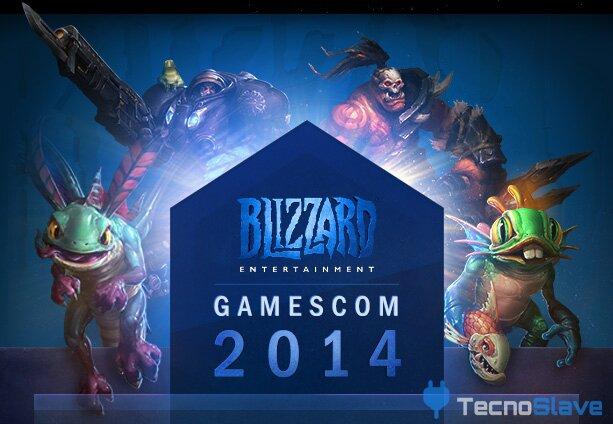 Blizzard - Gamescom stand