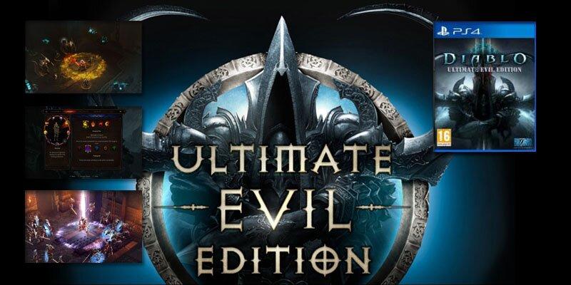 Sorteo Diablo III Ultimate Evil Edition para PlayStation 4