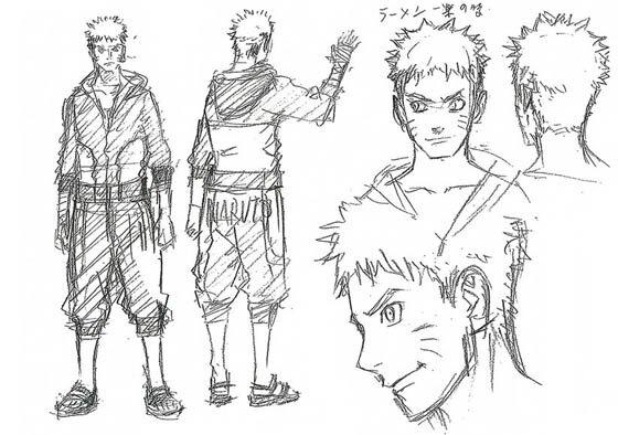 Naruto The last Naruto the movie bocetos