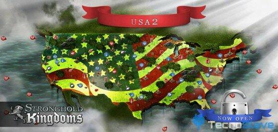 Stronghold Kingdoms - Mapa Norteamérica