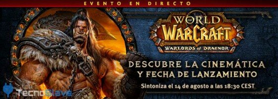 World of Warcraft - evento lanzamiento Warlords of Draenor