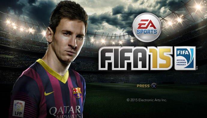 FIFA 15 Mesi Portada - TecnoSlave
