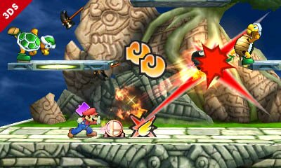analisis super smash bros 3ds review screenshot