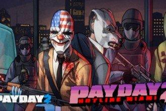 Payday 2 Hotline Miami