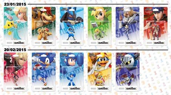 Amiibo 2015 Nintendo