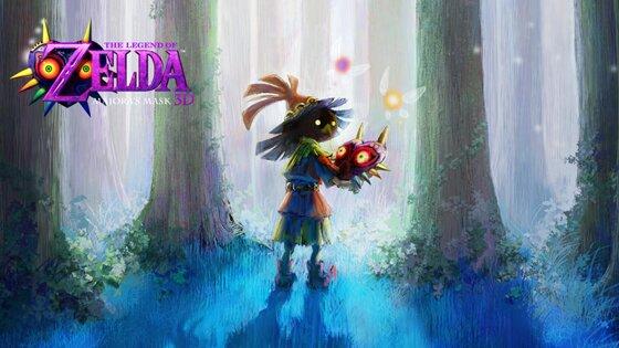 The legend of Zelda Majora´s Mask 3D