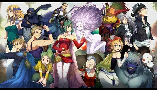 Final Fantasy VI personajes