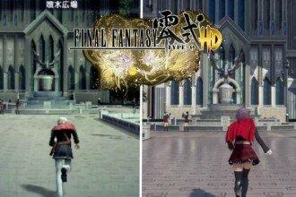 Comparación Final Fantasy Type-0 HD
