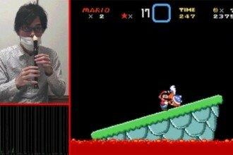 Flauta Super Mario World