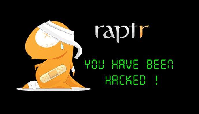 raptr hacked