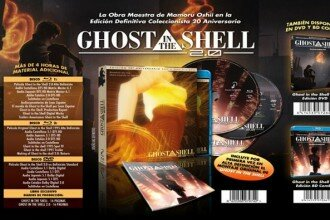 Ghost in the Shell Edición 20º Aniversario Destacada