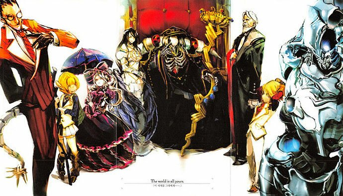 overlord fantasy portada
